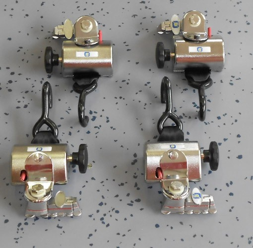 kit cinghie ancoraggi 4 arrotolatori