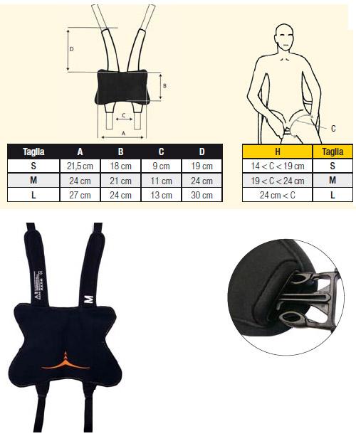 corpetti posturali per disabili