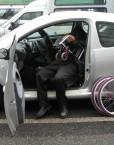 piastra girevole disabili