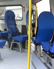 sedili trasporto disabili