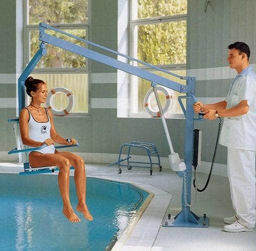 Sollevapersone per piscine poolseat - Sollevatore piscina per disabili ...