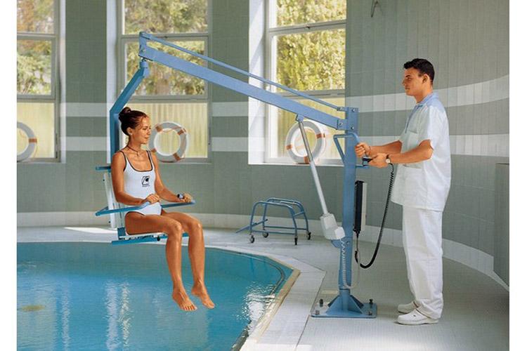 Sollevatori Mobili Per Piscina : Sollevapersone per piscine poolseat
