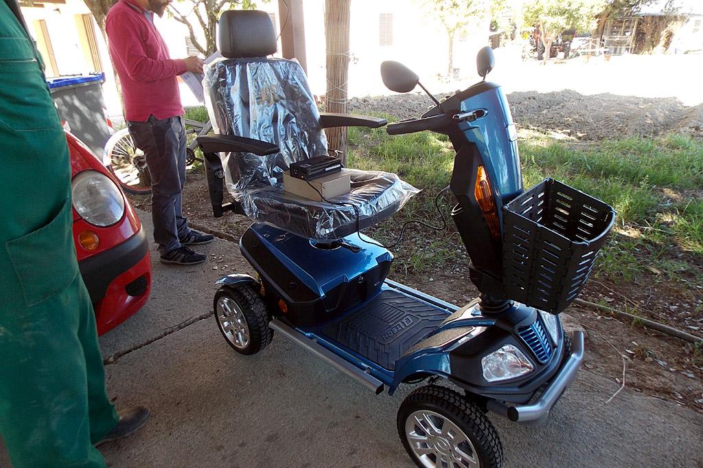 Consegna gratuita scooter