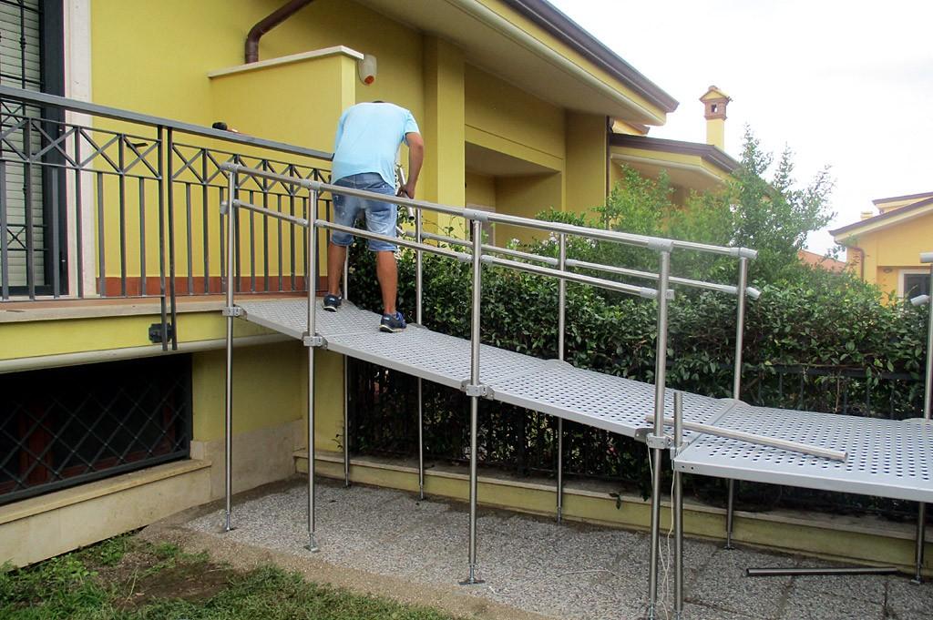 rampe fisse per disabili