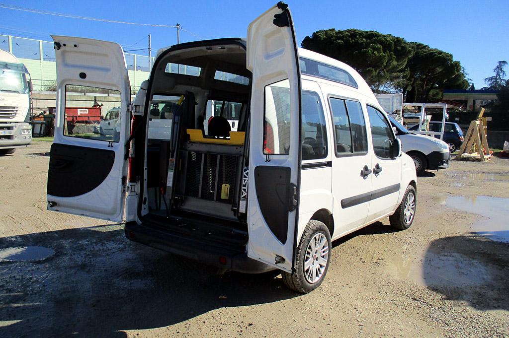 Doblo usato disabili - anno 2008; 160mila km